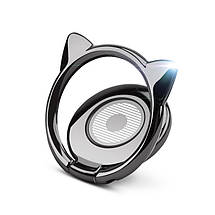 Металлическое кольцо-держатель для смартфона Cat, фото 3