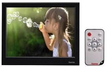 Цифровая фоторамка HAMA Slimline Basic black