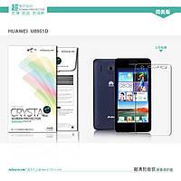 Защитная пленка Nillkin для Huawei U8951D (Ascend G610) глянцевая