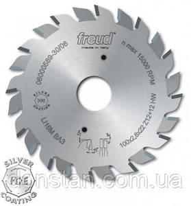 Пила Freud LI16M АВ3- подрезная двухкорпусная дисковая 120х2,8-3,6х22х12+12