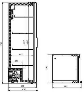 Холодильник однодверный Polair DM104-Bravo, фото 2