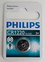 Батарейка для часов PHILIPS CR 1220 (3V) Япония