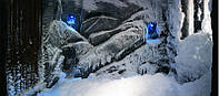 Строительство Снежной комнаты