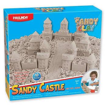 Песок для творчества Paulinda Sandy clay Sandy Замок 600г 10 ед PL-140022