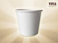 Бумажные стаканчики белые 110 мл