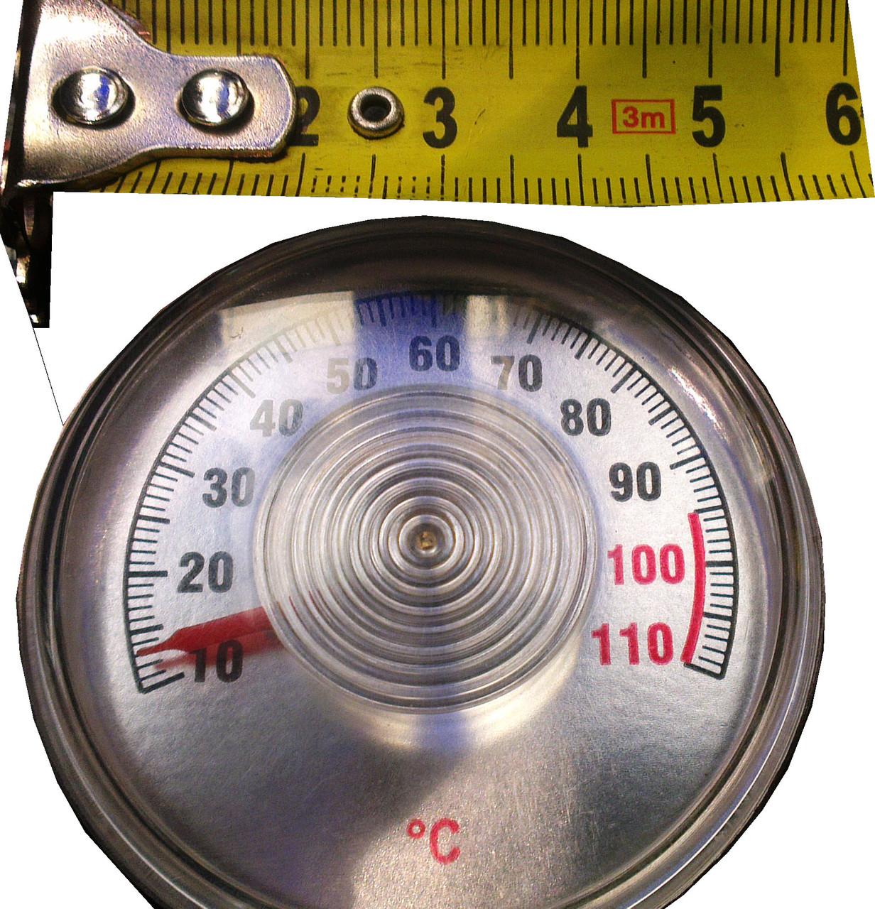 Термометр на лепучке  на 110`C\5,5см