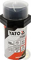 Нить ущілювальна резьбовых соединений l= 150 м, для давления ≤ 15 Bar, в капсуле Yato YT-29222
