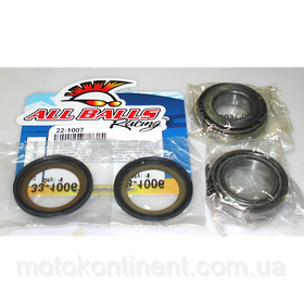 ALL BALLS 22-1007 подшипники рулевой колонки для Yamaha XV250, XV535 Virago /Yamaha FZR250/Suzuki RM100-250