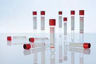 Вакуумна пробірка Lind-Vac без наповнювача, 7 мл, червона кришка, стерильна