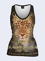 Майка Золотой леопард, фото 1