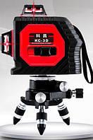 Лазерный уровень 3D 12 линий на 360 градусов  KaiTian 3D самовыравнивающийся нивелир