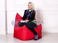 Кресло мешок Фокси |  красный Oksford