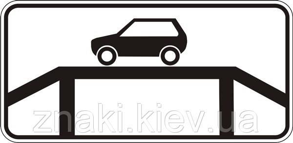 7.15 Место для осмотра автомобиля, дорожные знаки
