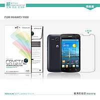 Защитная пленка Nillkin для Huawei Ascend Y600 глянцевая