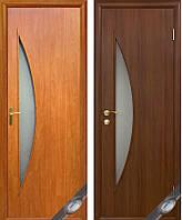 """Двери """"Луна"""" (полотно МДФ ламинированное со стеклом)"""