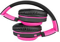 Наушники ART AP-B04 BT с микрофоном black-pink
