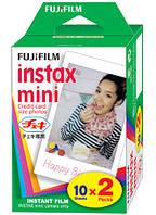 Картриджи для аппарата FUJIFILM Instax Mini Glossy
