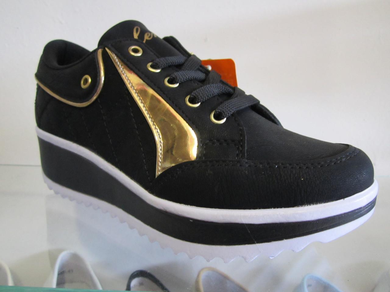 545ed8401 Кроссовки женские Lennox чёрные - Интернет-магазин Обувной каприз в  Житомирской области