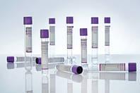 Вакуумна пробірка Lind-Vac, K2 ЕДТА, 6 мл, фіолетова кришка, стерильна (100 шт./уп.)