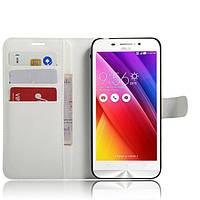 Чехол-книжка Litchie Wallet для Asus Zenfone Max ZC550KL Белый