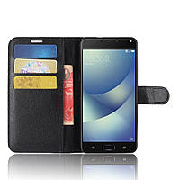 Чехол-книжка Litchie Wallet для Asus Zenfone 4 Max (ZC520KL) Черный