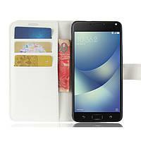Чехол-книжка Litchie Wallet для Asus Zenfone 4 Max (ZC520KL) Белый