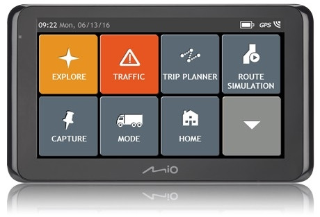 GPS-навигатор автомобильный Mio Spirit 8670FEU