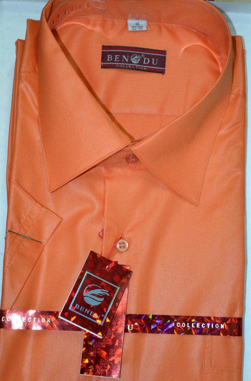 Оранжевая мужская тенниска BENDU (размеры 38.39.41.42.43.44.45.46)