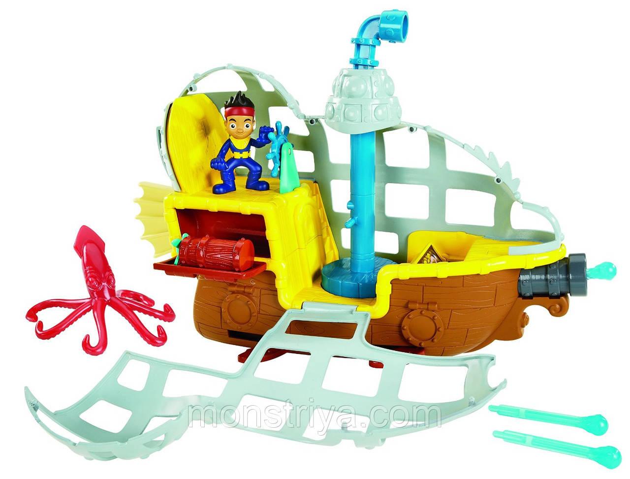 Подводная лодка Джейка ..Fisher-Price Jake and The Never Land Корабль