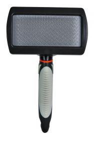 Trixie Щетка-пуходерка мягкая 12х20см., ручка пластик.