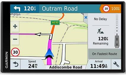 GPS-навигатор автомобильный Garmin DriveSmart 61 LMT-D (010-01681-13)