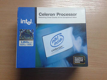 Процессор Intel Celeron 1.8GHz/128/400 (SL7RU) s478, BOX