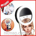 Светодиодное кольцо для селфи, с телефона и планшета, фото 6
