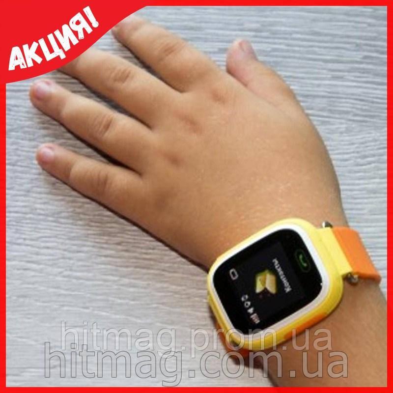 Детские GPS часы Q100 с сенсорным экраном