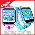 Детские GPS часы Q100 с сенсорным экраном, фото 5