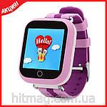 Детские GPS часы Q100 с сенсорным экраном, фото 7