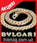 Bvlgari браслет с золотым напылением, фото 4