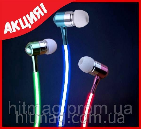 Наушники светящиеся в такт музыке (Glow)