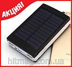 Внешний аккумулятор Power Bank на солнечных батареях 20 000 mAh, фото 2