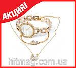 Набор 3 предмета SWAROVSKI в подарочной коробке. (Часы, подвеска, браслет), фото 8