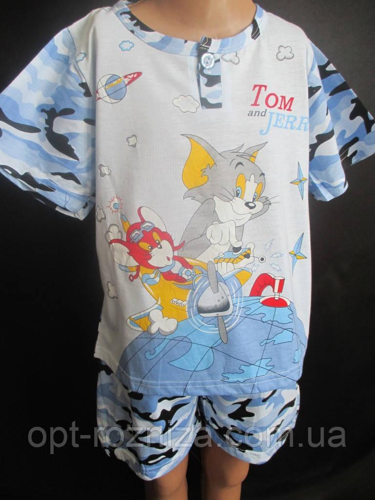 Трикотажные костюмы на лето для мальчиков.