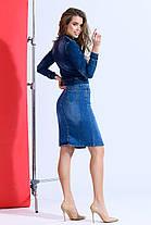 Классическая джинсовая юбка, фото 3