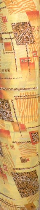 Тканина парашют - леопардова абстракція