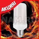 LED эффект пламени огня лампа, фото 2