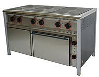 Плита электрическая 6-ти конфорочная с духовкой
