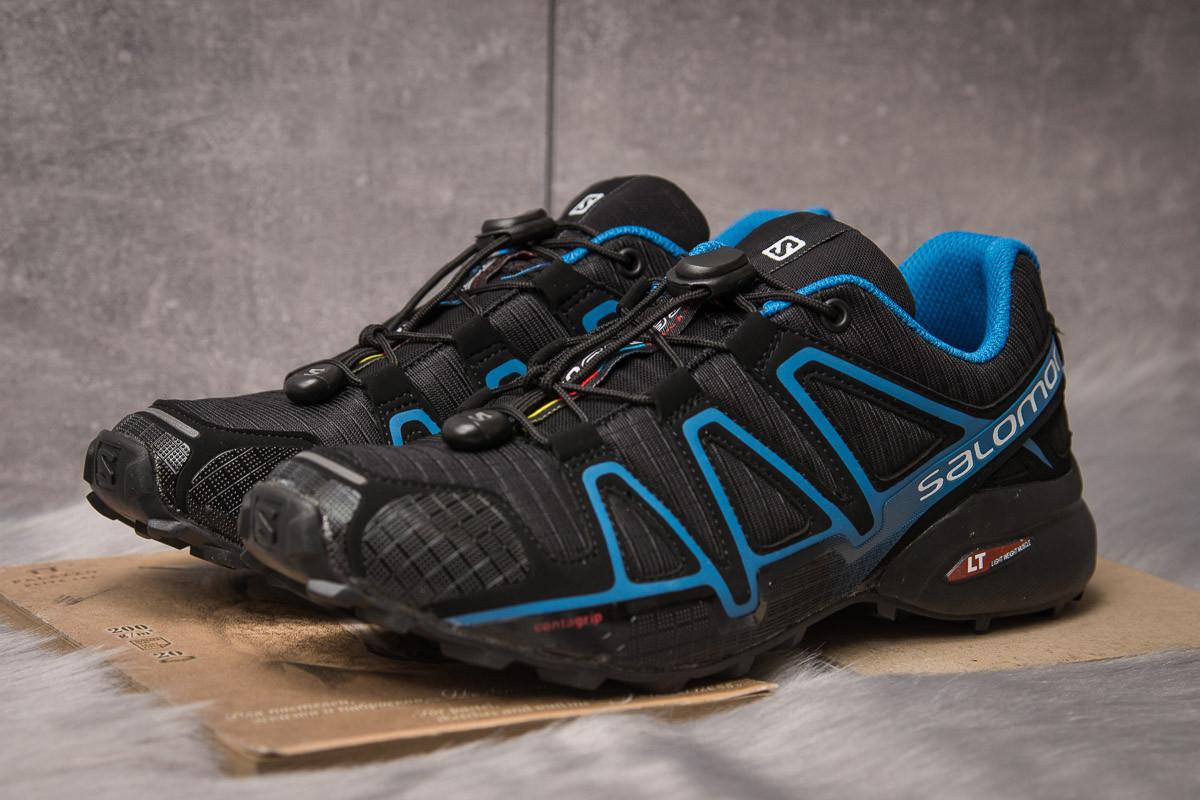 Кроссовки мужские  Salomon Speedcross 4, черные (14961) размеры в наличии ►(нет на складе)
