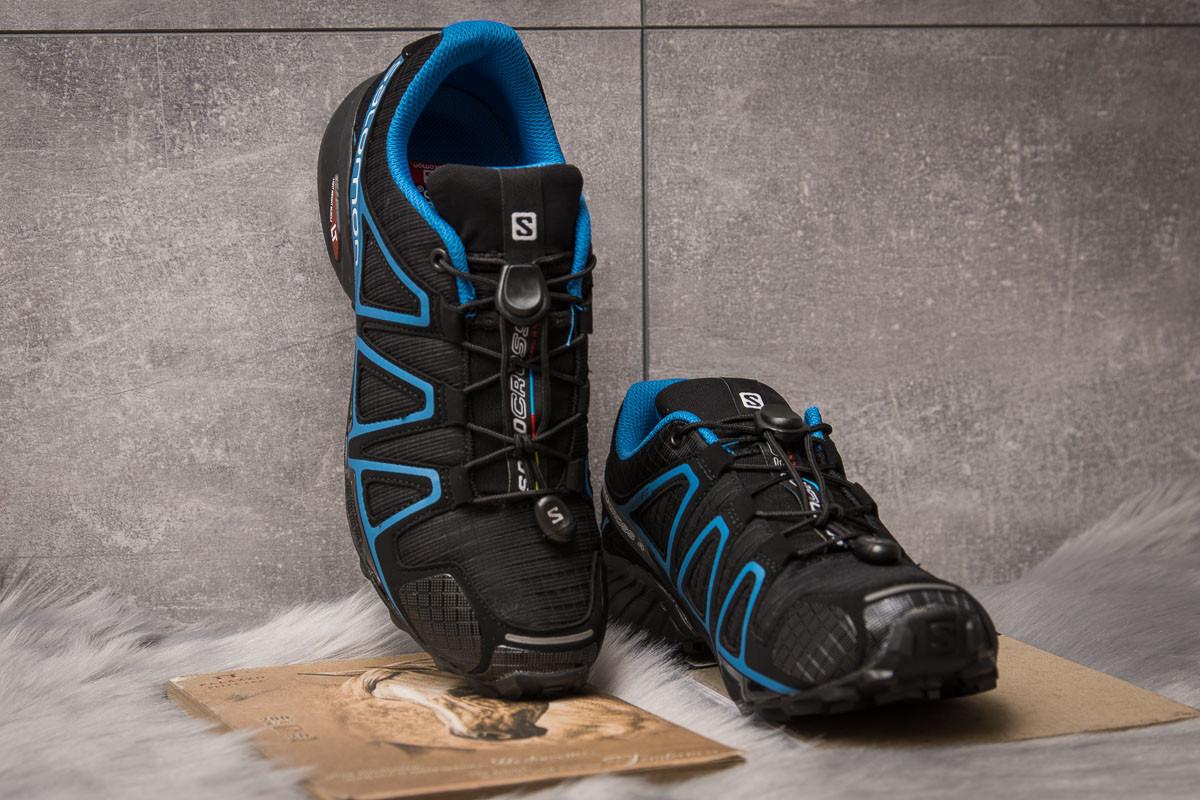 Кроссовки мужские  Salomon Speedcross 4, черные (14961) размеры в нали 3