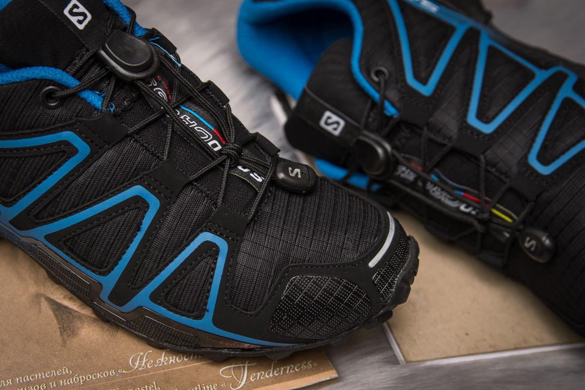 Кроссовки мужские  Salomon Speedcross 4, черные (14961) размеры в нали 6