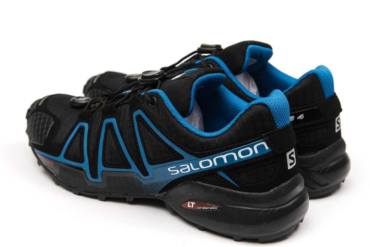 Кроссовки мужские  Salomon Speedcross 4, черные (14961) размеры в нали 8