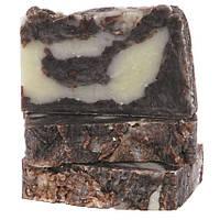 Натуральное органическое мыло с кокосовым молоком и шоколадом без пластификатора 100 г